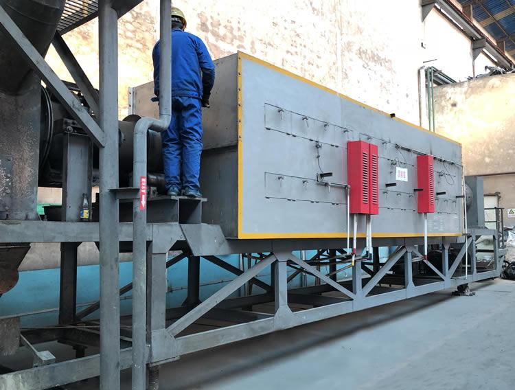 济源豫光滚筒炉生产线