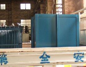 盐浴炉炉体与变压器